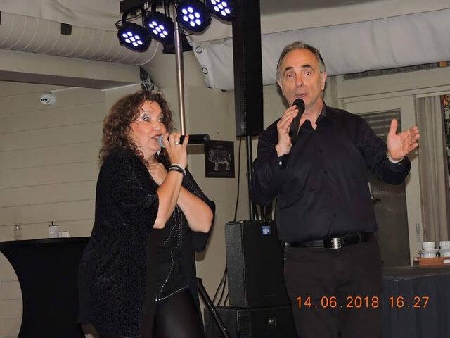 Marco Rossi en Corinna