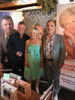 Paul Bruna ,Marina Wally en Marco Rossi